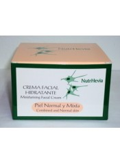 Crema facial hidratante piel normal y mixta (50ml.)