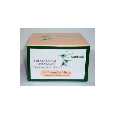 Crema facial hidratante piel normal y mixta (50ml.)
